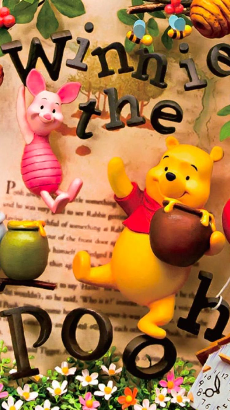 wnniethepooh14 - 26 Winnie the Pooh HQ Smartphone Wallpaper Collection
