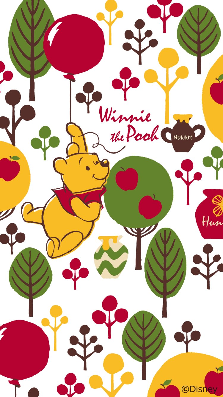 wnniethepooh18 - 26 Winnie the Pooh HQ Smartphone Wallpaper Collection