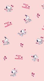 snoopypattern06 150x275 - スヌーピーと仲間たちのかわいい高画質スマホ壁紙71枚 [iPhone&Androidに対応]
