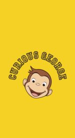curiousgeorge02 150x275 - おさるのジョージの無料高画質スマホ壁紙24枚 [iPhone&Androidに対応]