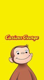 curiousgeorge03 150x275 - おさるのジョージの無料高画質スマホ壁紙24枚 [iPhone&Androidに対応]