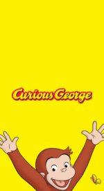 curiousgeorge07 150x275 - おさるのジョージの無料高画質スマホ壁紙24枚 [iPhone&Androidに対応]