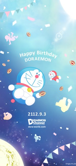 doraemon20 300x650 - ドラえもんの無料高画質スマホ壁紙65枚 [iPhone&Androidに対応]