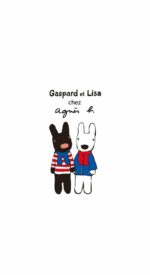 lisaandgaspard18 150x275 - リサとガスパールの無料高画質スマホ壁紙43枚 [iPhone&Androidに対応]
