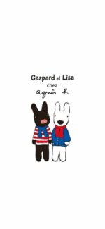 lisaandgaspard18 150x325 - リサとガスパールの無料高画質スマホ壁紙43枚 [iPhone&Androidに対応]