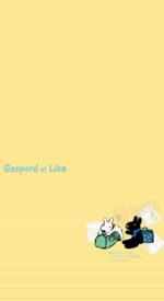 lisaandgaspard31 150x275 - リサとガスパールの無料高画質スマホ壁紙43枚 [iPhone&Androidに対応]