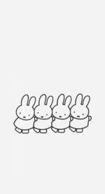 miffy21 150x275 - ミッフィーの無料高画質スマホ壁紙45枚 [iPhone&Androidに対応]