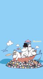 moomins10 150x275 - ムーミンの無料高画質スマホ壁紙75枚 [iPhone&Androidに対応]