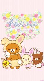 rilakkuma31 150x275 - リラックマの無料高画質スマホ壁紙54枚 [iPhone&Androidに対応]