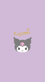 kuromi03 150x275 - クロミの無料高画質スマホ壁紙10枚 [iPhone&Androidに対応]