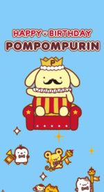 pompompurin08 150x275 - ポムポムプリンの無料高画質スマホ壁紙47枚 [iPhone&Androidに対応]