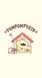 pompompurin11 150x275 - ポムポムプリンの無料高画質スマホ壁紙47枚 [iPhone&Androidに対応]
