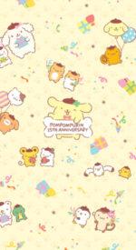 pompompurin23 150x275 - ポムポムプリンの無料高画質スマホ壁紙47枚 [iPhone&Androidに対応]